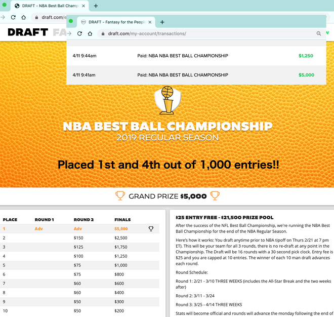 RotoEvil = The home of Fantasy Hoops Champions