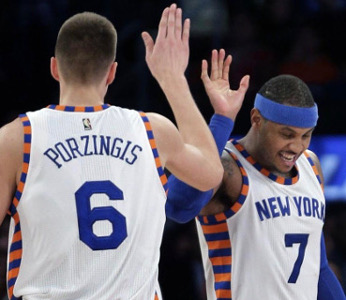 Post image for Free Projections + Analysis: Kristaps Porzingis and Carmelo Anthony