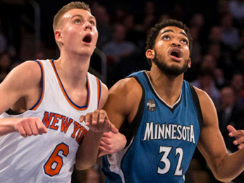 Karl-Anthony Towns, Kristaps Porzingis - #1 Fantasy Basketball Draft Guide
