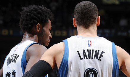 andrew Wiggins, Zach LaVine, Aaron Gordon - #1 Fantasy Basketball Draft Guide